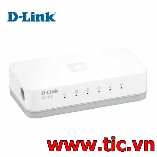 Switch DLink 5 Port (DES-1005A)