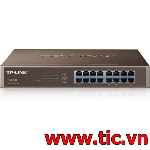 Switch TPLink 16 Port (TL-SG1016D)