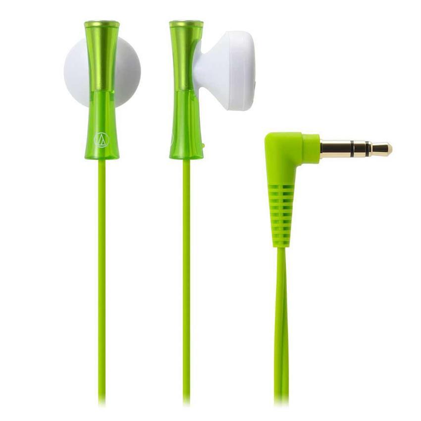 Tai nghe Audio Technica ATH-J100 (Xanh Lá)