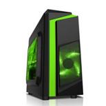 Vỏ máy tính Sama E-Sport F2 Black - Green