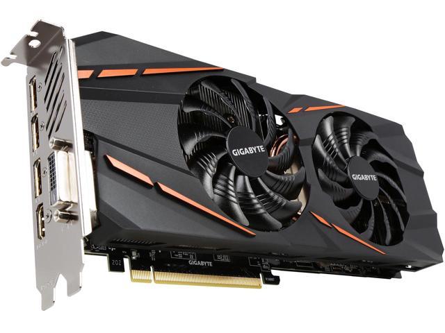 Card màn hình Gigabyte  GV-N1060G1 GAMING-6GD - GeForce GTX 1060 Chuẩn PCI-Express 3.0