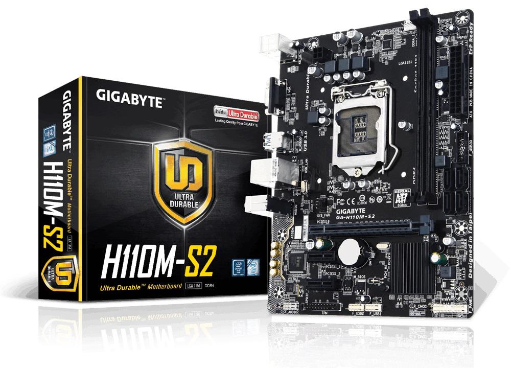 Main GIGABYTE H110M-S2PV DDR4