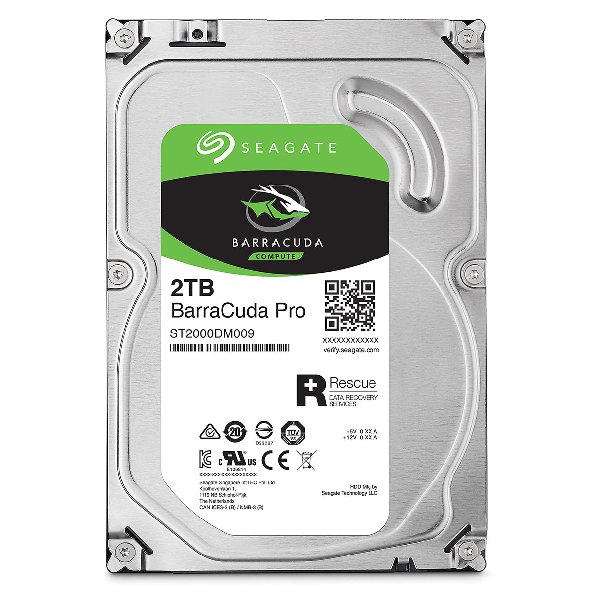 Ổ cứng HDD SEAGATE Barracuda Pro ST2000DM009
