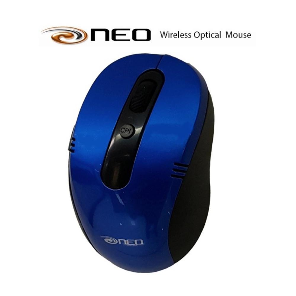 Chuột Không Dây NEO Retail Wireless Xanh dương