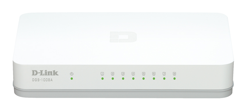 Switch 8Port Gigabit D-Link (DGS 1008A)