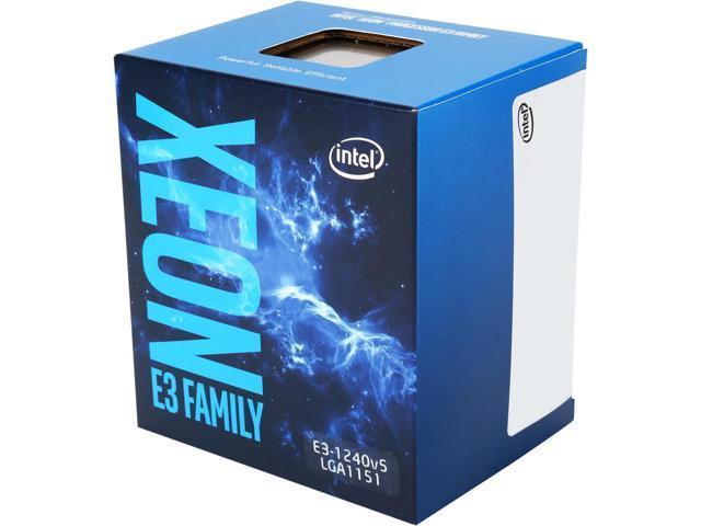 CPU Intel Xeon  E3 1240V5