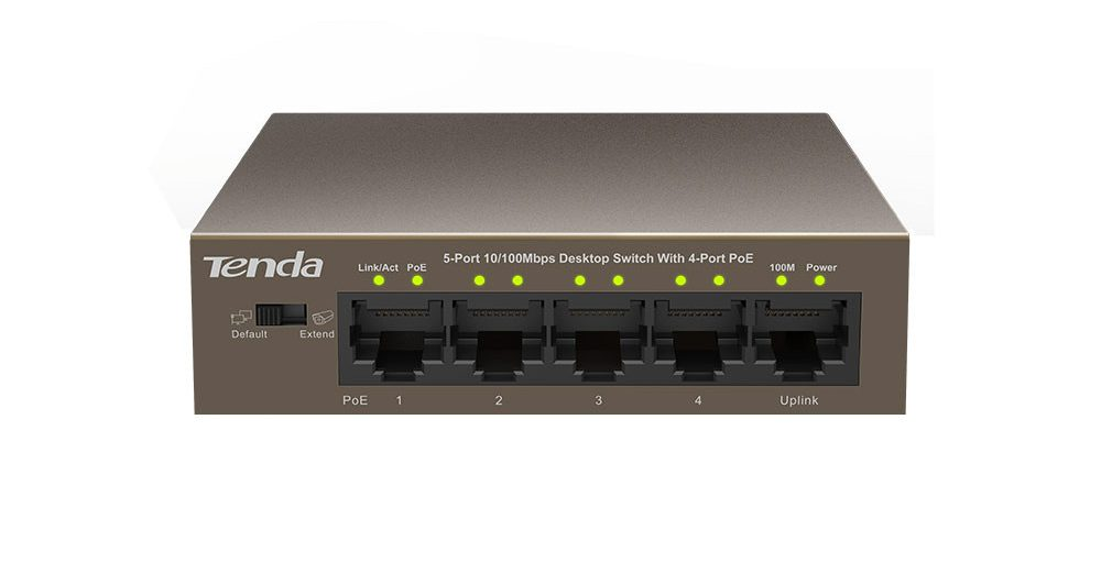 Switch Tenda TEF1105P 5-Port 10/100Mbps PoE