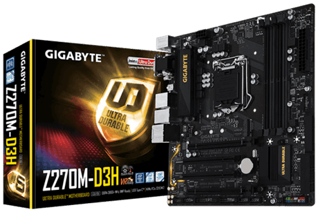Mainboard Z270M-D3H