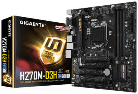Mainboard H270M-D3H