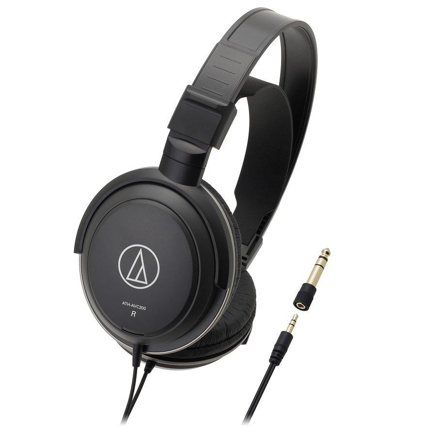 Tai nghe Audio Technica ATH-AVC200 (Đen)