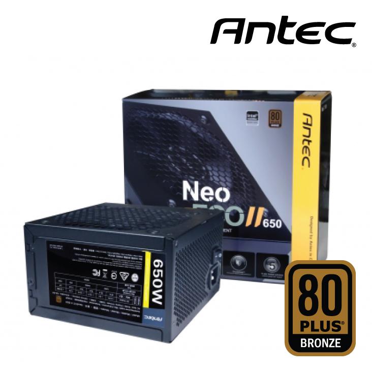 Nguồn Antec Neo Eco 650C-80 Plus Bronze