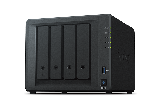 Ổ cứng mạng Synology Diskstation DS418