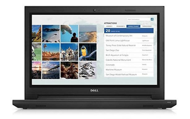 Laptop Dell Inspiron 3567C-P63F002-TI34100 (Black)