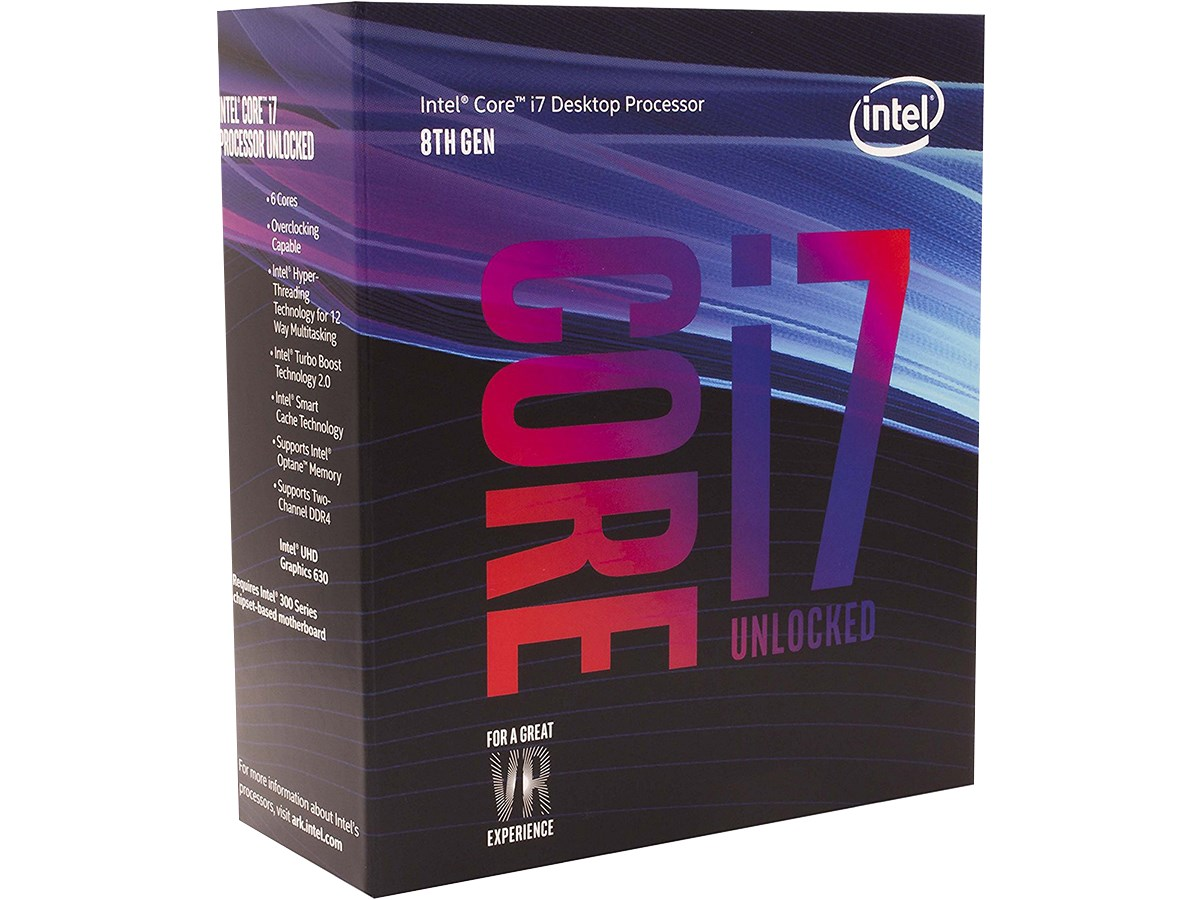 CPU Intel Core i7 8700K 3.7Ghz
