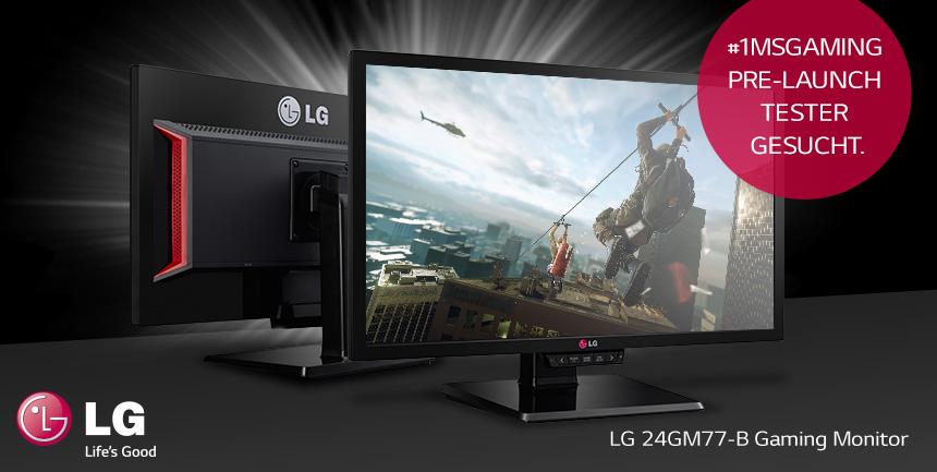 Màn hình máy tính GAMING LG 24GM77-B 24''  LED 144Hz