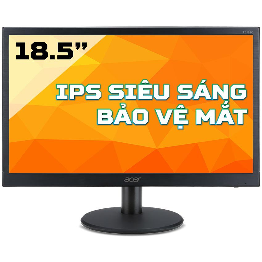 Màn hình Acer EB192QA (18.5 inch/HD/LED/IPS/VGA/200 cd/m²/60Hz/5ms)