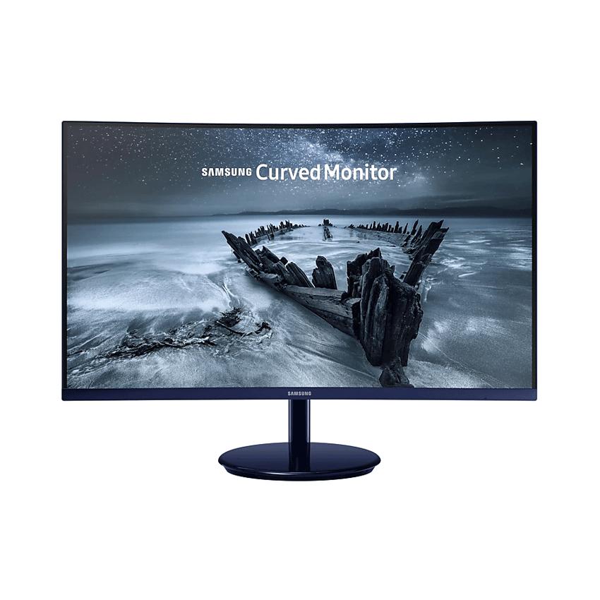 Màn hình Samsung LC27H580FDEXXV (27 inch/FHD/PLS/250cd/m²/DP+HDMI/60Hz/5ms/Màn hình cong)