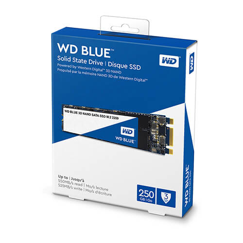 Ổ cứng SSD WD Blue 3D NAND 250GB M.2