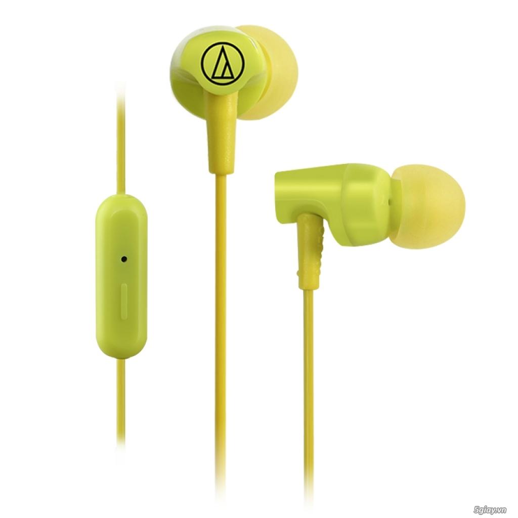 Tai nghe Audio Technica ATH-CLR100IS (Xanh Lá)