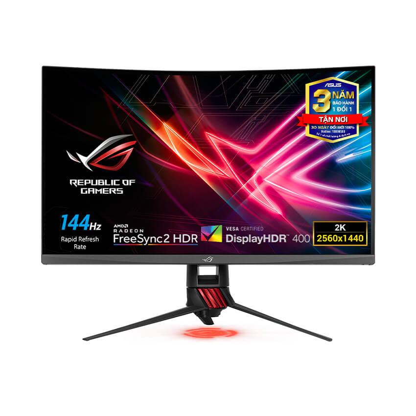 Màn hình Asus XG32VQR (31.5 inch/WQHD/144Hz/4ms/450cd/m²/DP+2HDMI/Free Sync/Aura RGB)