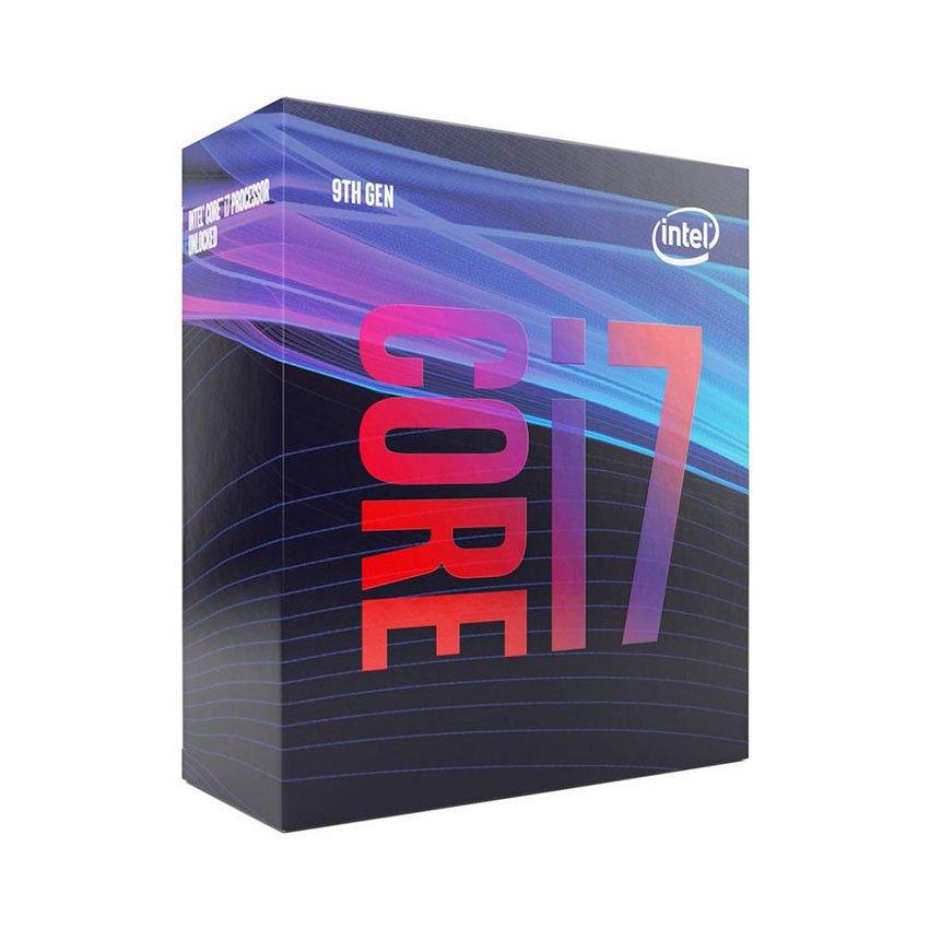 CPU Intel Core i7-9700 (3.0GHz turbo up to 4.7Ghz, 8 nhân 8 luồng, 12MB Cache, 65W) - Socket Intel LGA 1151-v2