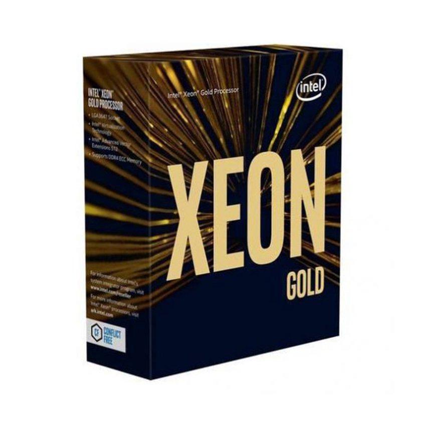 CPU Intel Xeon Gold 6240 (2.6GHz turbo up to 3.9GHz, 18 nhân, 36 luồng, 24.75 MB cache, 150W) - Socket Intel LGA 3647