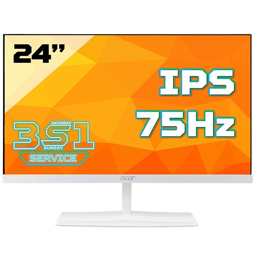 Màn hình Acer ED245QA (23.6 inch/FHD/IPS/250 cd/m²/75Hz/4ms/HDMI+VGA/màu trắng)