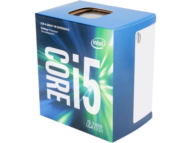 Bộ VXL Intel Kabylake Core i5 7400