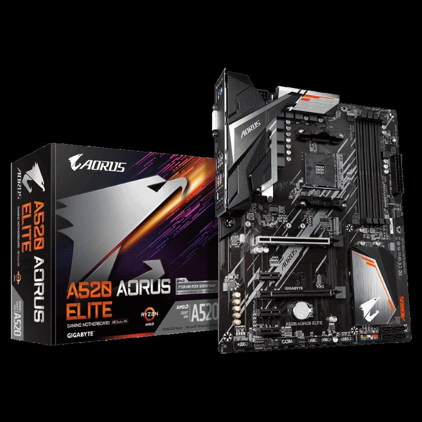 Mainboard Gigabyte A520I AC (AMD A520, Socket AM4, Mini-ITX, 2 khe RAM DDR4)