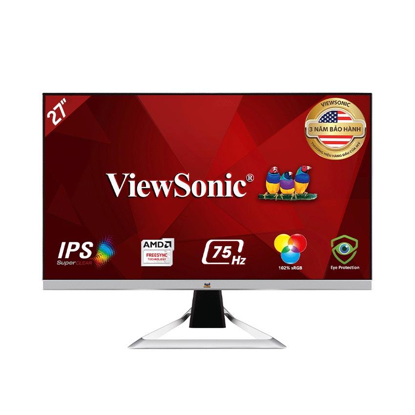 Màn hình Viewsonic VX2781-MH (27inch/FHD/IPS/75Hz/1ms/250nits/HDMI+VGA/Loa/FreeSync)