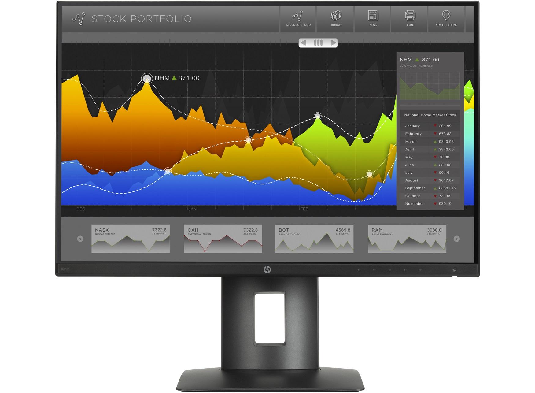 Màn hình HP Z24nq 23.8-In Narrow Bezel IPS