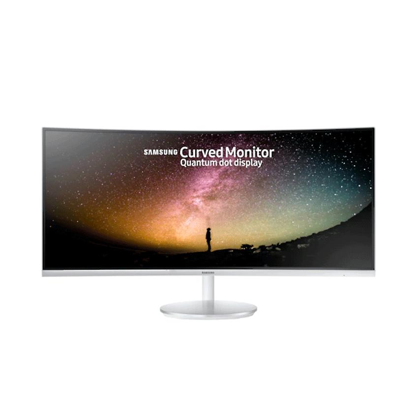 Màn hình Samsung LC34J791WTEXXV (34 inch/2K/PLS/350cd/m²/DP+HDMI/21:9/60Hz/5ms/Cong)