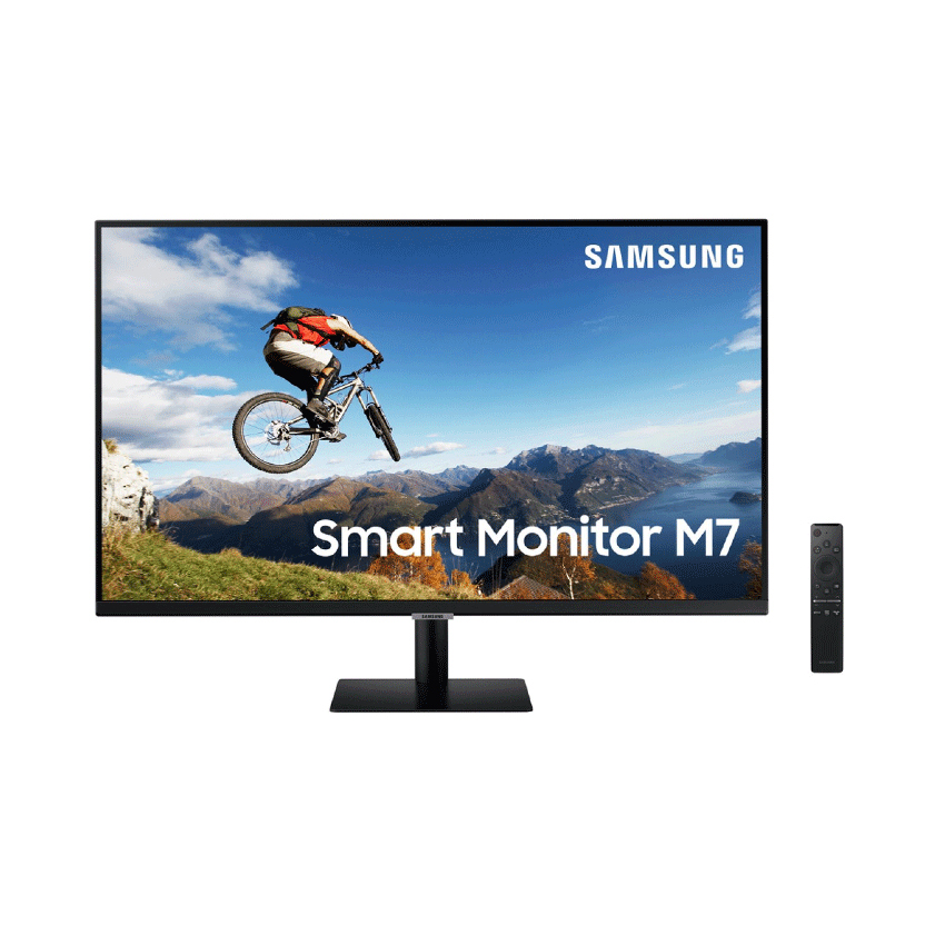 Màn hình Samsung LS32AM700UEXXV (31.5inch/4K/VA/60Hz/8ms/250nits/HDMI+USB/Tivi+Remote)