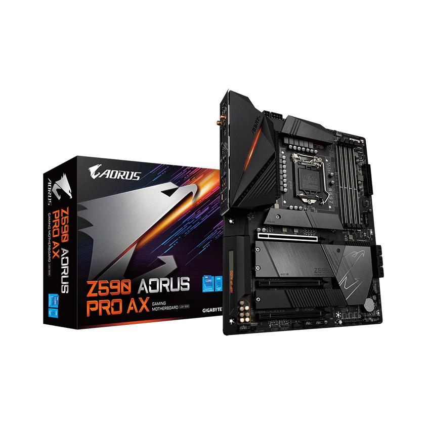 Mainboard Gigabyte Z590 AORUS PRO AX (Intel Z590, Socket 1200, ATX, 4 khe Ram DDR4)