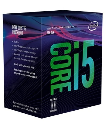 CPU Intel Core i5 8600K 3.6Ghz Turbo Up (Coffee Lake)