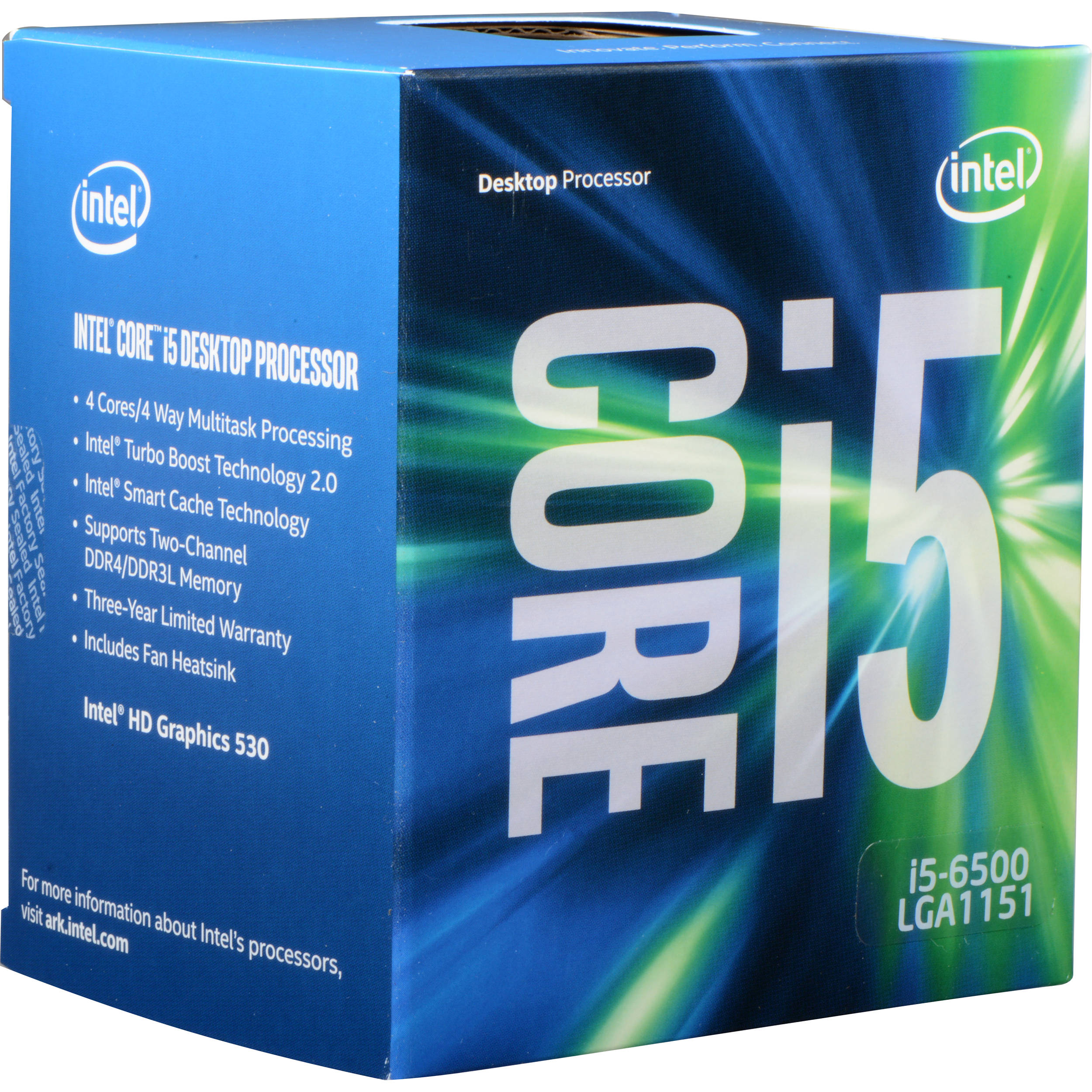 CPU INTEL Skylake Core™i5-6500 3.20GHz