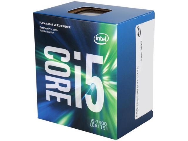 Bộ VXL Intel Kabylake Core i5 7500