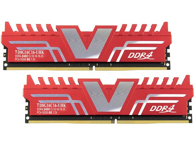 Ram V-COLOR DDR4 8GB bus 2400MHz