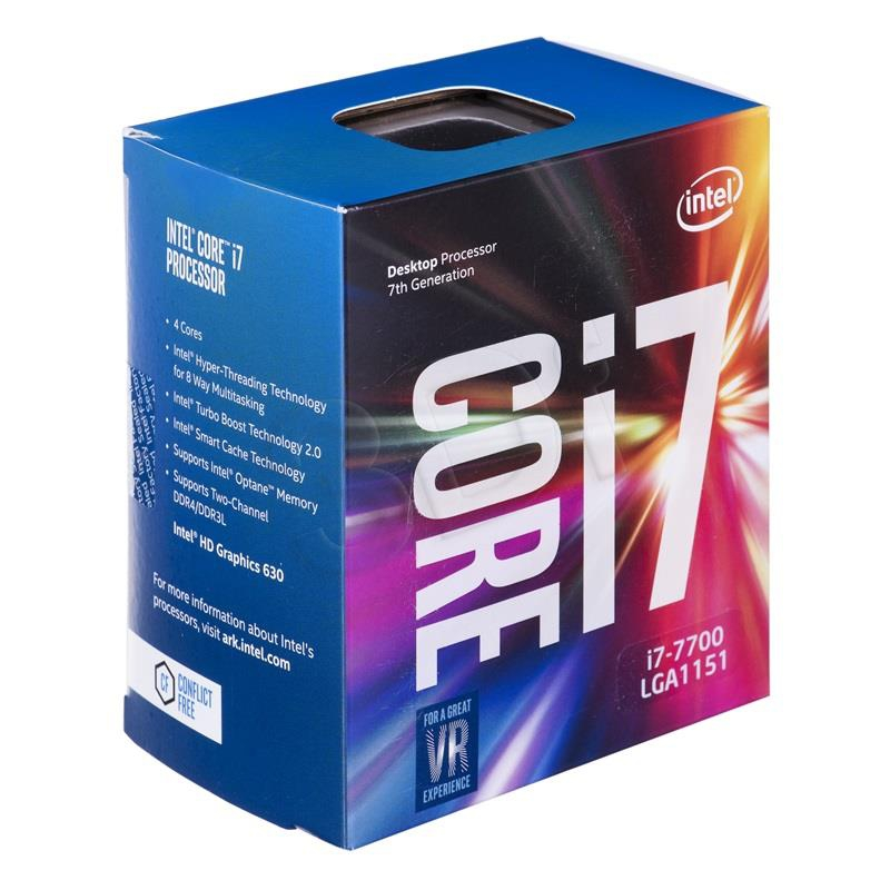 Bộ VXL Intel Kabylake Core i7 7700