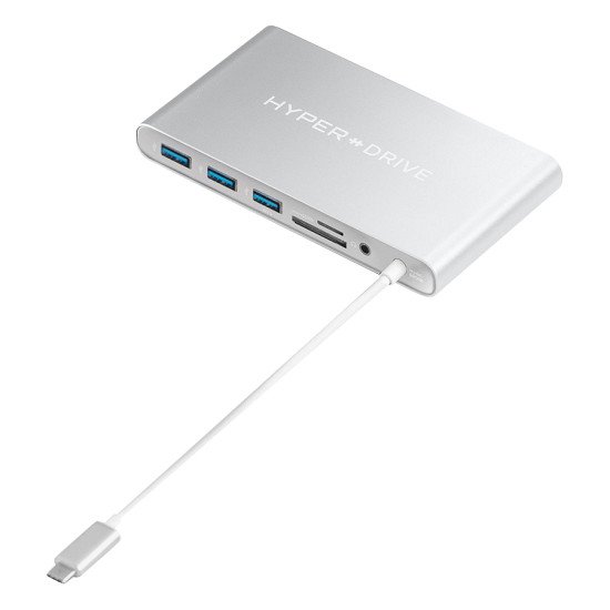 Hyperdrive Ultimate USB-C Hub (Thunderbolt 2 to 3) Support (for 2016/2017 MacBook Pro)