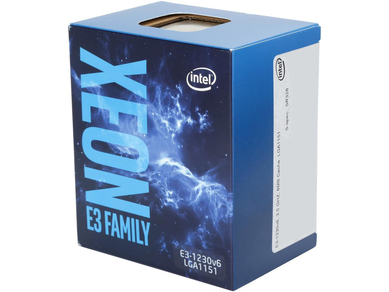 CPU Intel Core Xeon E3-1230 V6