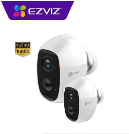 Camera IP Wifi không dây dùng pin sạc Ezviz CS-C3A 2MP (1080P)