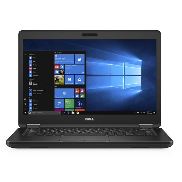 Laptop Dell Latitude 5000 series 5480-42LT540W04 (Black)- Thiết kế mỏng nhẹ