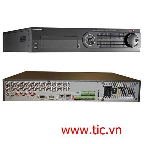 Đầu ghi hình HD-TVI 24 kênh HIKVISION DS-8124HGHI-SH