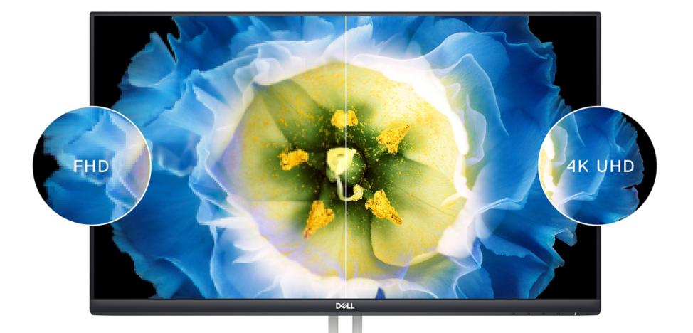 Monitor Dell S2721QS - 27' screen