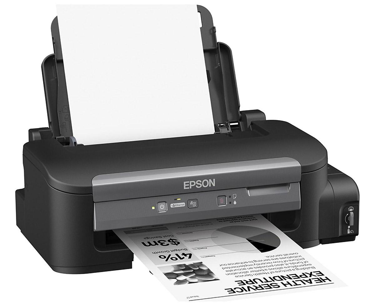 Máy in Phun màu đen trắng EPSON M100 - Khổ A4