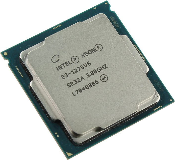 CPU Intel XEON PROCESSOR E3-1275 V6