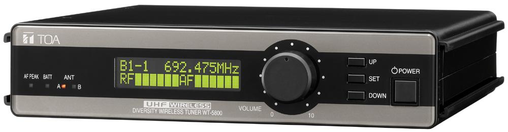 Bộ thu không dây UHF TOA WT-5805