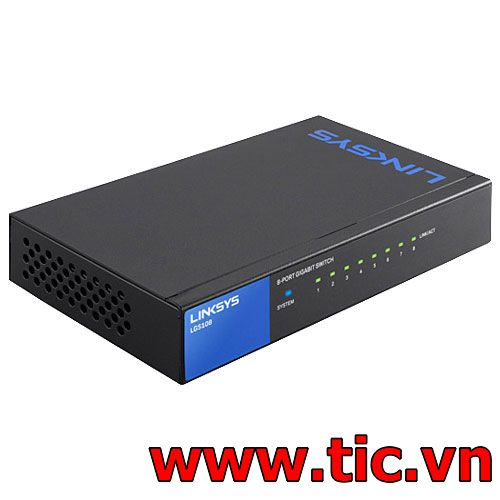 linksys LGS1088 cổng 10/100/1000Mbps