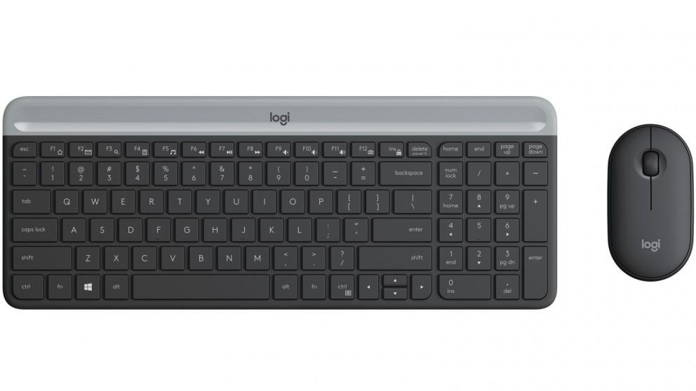 Bộ chuột bàn phím MK470 Slim Wireless